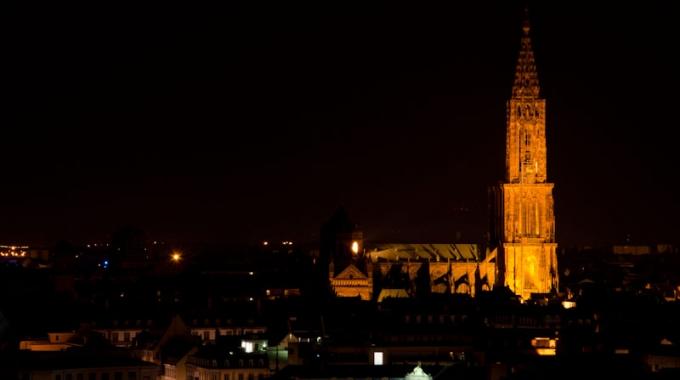 Strasbourg vu d'en haut